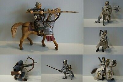Schleich 70034-70044 Kreuz Ritter Tempel Orden Orientalische Figuren zur Auswahl