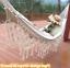 2 Person Hammock Large Brazilian Macrame Fringe Double Hammock Swing Net Chair