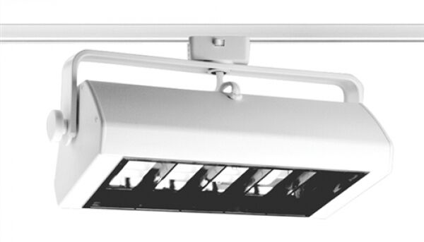 Track Lighting Tbx18e Wh Trac Master