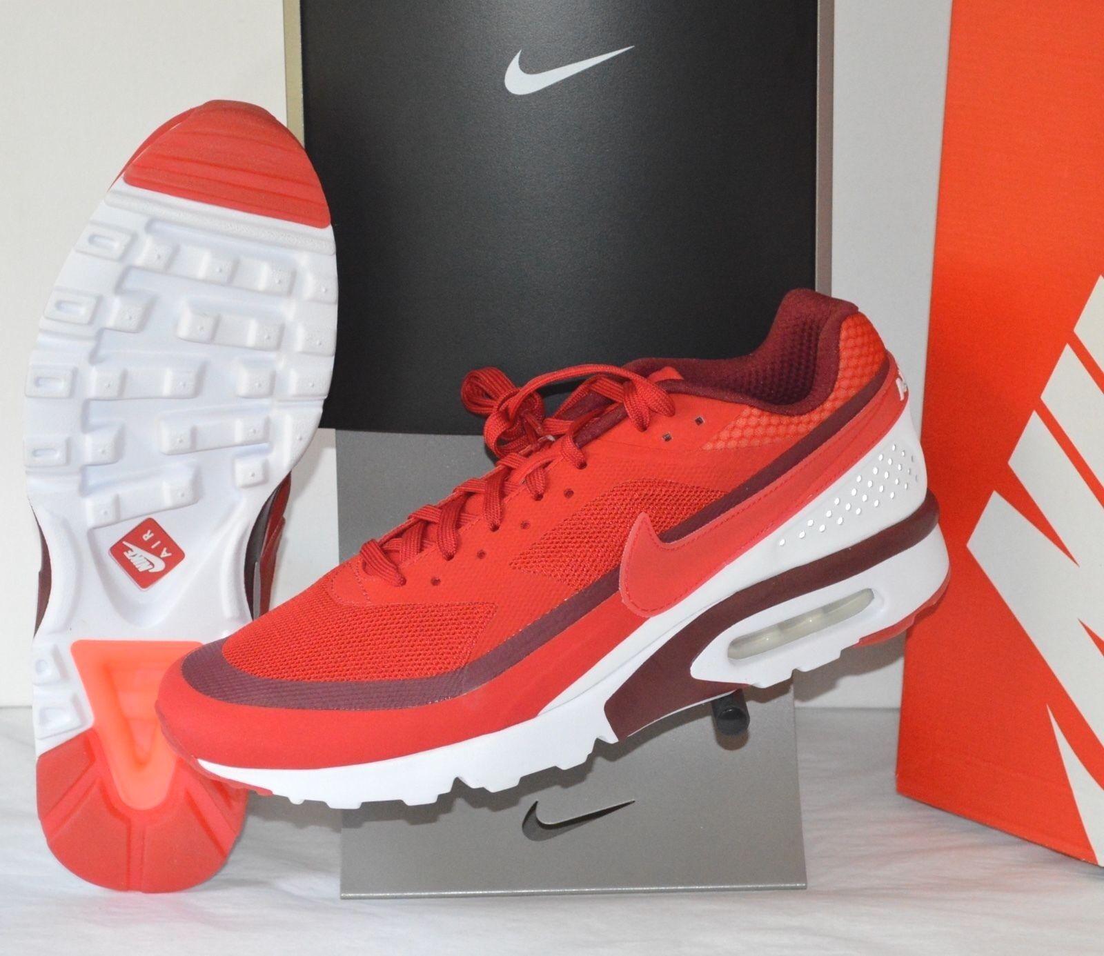 New  130 Nike Air Max BW Ultra University Red Bright Crimson sz 12 AIRMAX 90