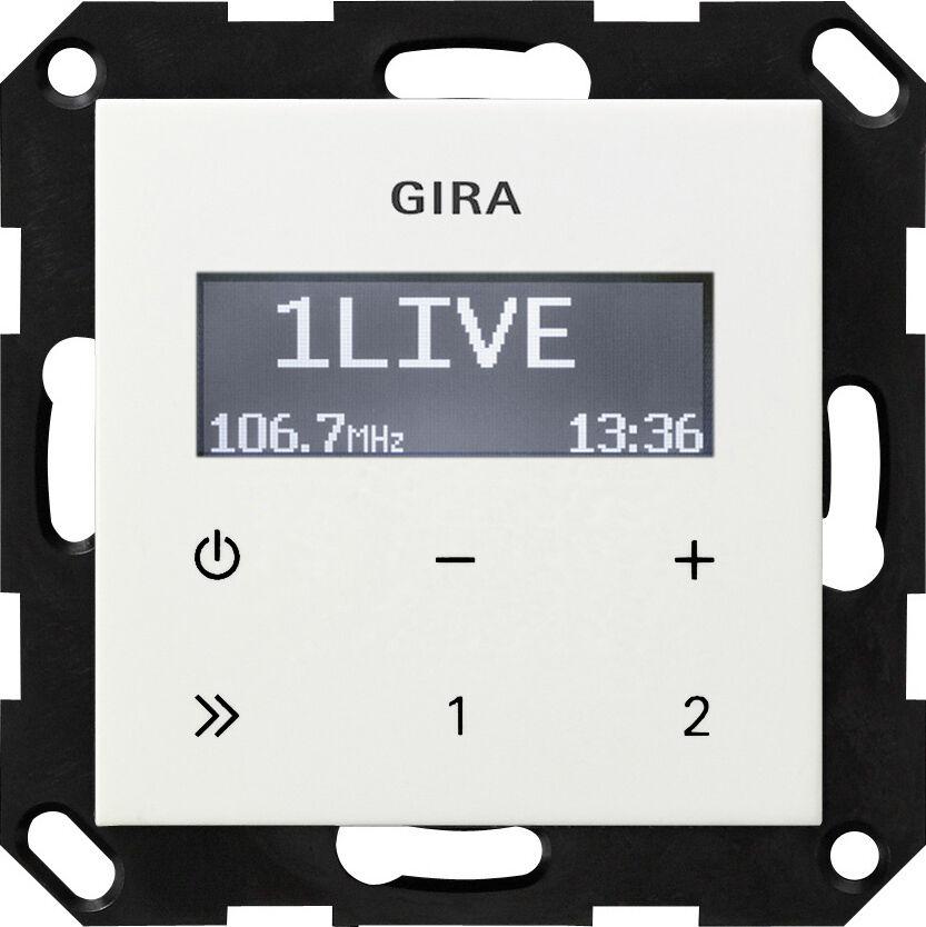 Gira Unterputz Radio RDS, Lautsprecher oder Rahmen Serie E2 - zur Auswahl  | Ausgezeichnetes Handwerk