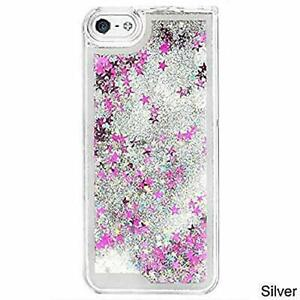Silver Star Glitter Waterfall Iphone Case Iphone 6 Iphone 6s Ebay