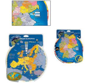 DEUTSCHLAND LÄNDER EUROPAS Europa Drehscheibe Karte