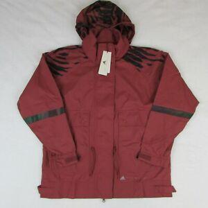 Adidas-Stella-McCartney-Run-Ultimate-Jacket-Women-039-s-Size-M-Cllay-Red-Maroon-230