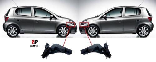 Pour Toyota Yaris 1999-2003 Nouveau Pare-Chocs Avant Support Support Paire Set