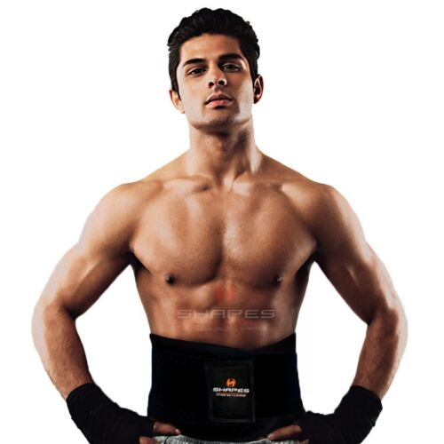 Neoprene Lumbar Back Support Body Shaper Waist Cincher Trainer Slimming Gym Belt