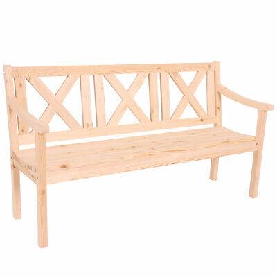 Gartenbank Bank Parkbank Mazara 3-Sitzer 160 cm Holz ...
