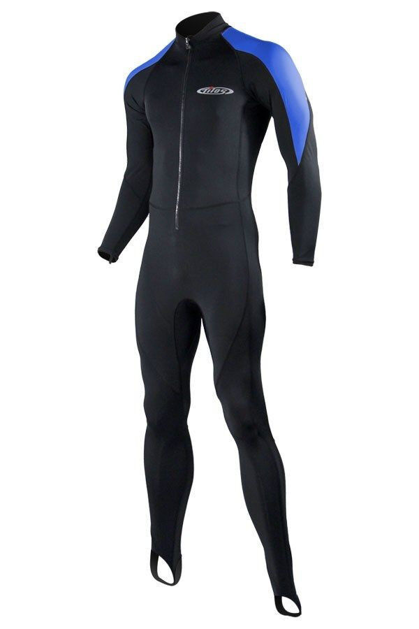 Wetsuit lycra skin 6oz Tilos scuba dive equipment snorkel gear blueee L100BU GIFT