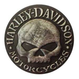 Harley-Davidson-Distressed-Willie-G-Skull-Leather-Emblem-Patch-3-75-inches