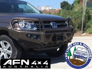 Details about AFN VOLKSWAGEN AMAROK BULL BAR ARB MCC RHINO COMPLETE BUMPER  REPLACEMENT