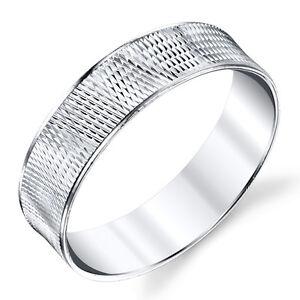 925-Sterling-Silver-Mens-Wedding-Bands-Rings-size-8-9-10-11-12-13-SEVB008