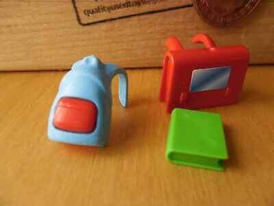 0623 Two Books for Child Size Toy Backpacks School Playmobil New Spares