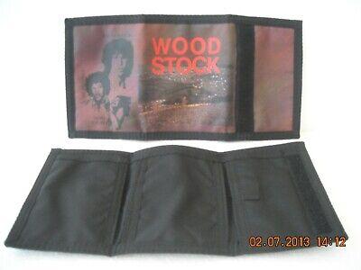 Obbiettivo Portafogli Morbido A Strappo 2 Lembi Woodstock Anni '80