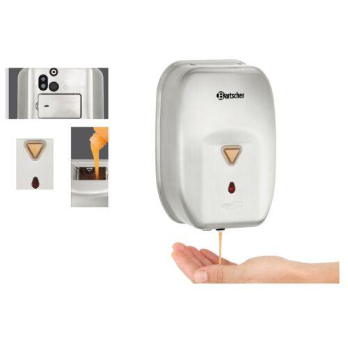 Seifenspender mit Sensor automatischer Flüssigseifen Spender Automat Gastro CNS
