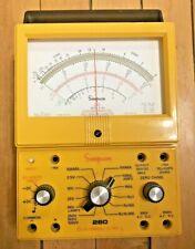 Simpson 260 8 Xpi Series Volt Ohm Milliammeter Untested See Desc