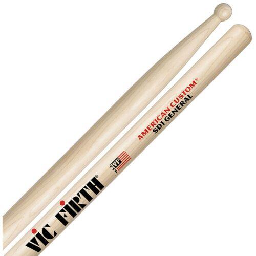 American Custom, Rock Maple DRUM STICKS SD1 VIC FIRTH