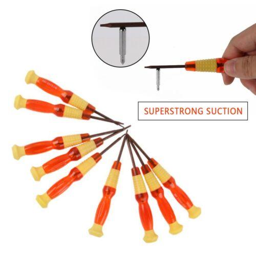Bit Screwdriver Opening Repair Tool Kit Precision Steel Magnetic Screwdriver
