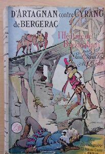 Libro-ancien-D-039-ARTAGNAN-A-BERGERAC-Contra-CYRANO-El-legado-DE