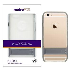 Metropcs Apple Iphone 6 Plus 6s Plus Kick Two Piece Kickstand Shield Clear 846537045172 Ebay