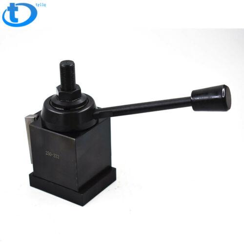 "CXA Wedge Tool Post 250-333 Quick Change Tool Holder 13-18/"" Swing Lathe US"