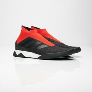 200 Adidas Predator Tango 18+ TR Boost Red Black AQ0603 Shoes 18.1 ... b0234777c