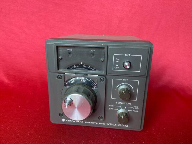 Kenwood Vfo 820 Remote Vfo For Ts 820s Ham Radio Transceiver For Sale Online Ebay