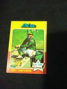 1975-Topps-170-Bert-Campaneris-Oakland-Athletics-A-039-s-excellent