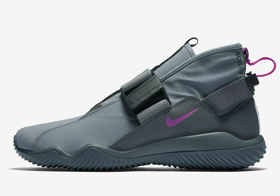 Nike Nikelab ACG 07 KMTR 902776-002, gris tendance, UK 8 EU 42.5 US 9, komyuter-