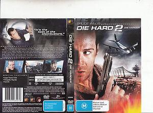 Die Hard 2 1990 Bruce Willis Movie Dvd Ebay