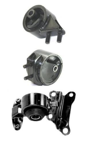 1994-1996 Mazda MX-3 1.6L A//T Engine and Transmission Mounts 3pc Kit
