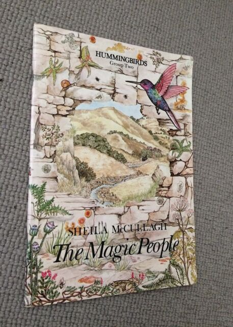 Sheila McCullagh HUMMINGBIRDS MAGIC PEOPLE Group 2 paperback Collins 1994 reprin