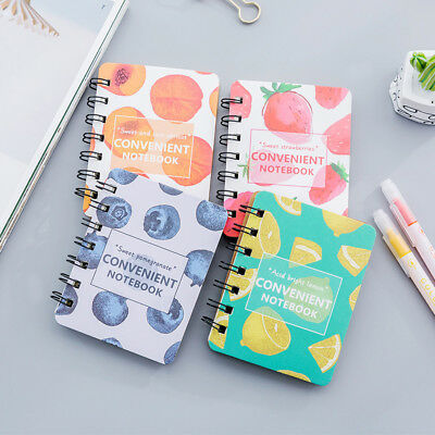 Kraft Paper Cover Portable Notebook Diary Pocket Planner Notebook Memo Pad 6T