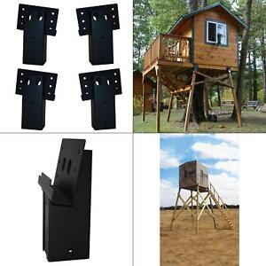 4 Pack Dual Angle Elevator Brackets 4x4 Deer Stand Hunting