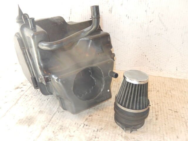 Suzuki DR 650 Sportlluftfilter mit Luftfiltergehäuse für DR650 SP41 bis SP45