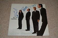 DAVID BOWIE signed Autogramm In Person TIN MACHINE komplett Vinyl rar!! LP