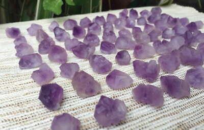 50pcs Natural Rough Premium Quality Short Clear Quartz Crystal Pristine Points