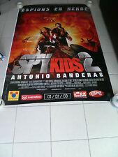 AFFICHE SPY KIDS 2 4x6 ft Bus Shelter D/S Movie Poster Original 2002