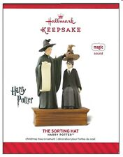 2014 Hallmark Harry Potter The Sorting Hat Sound Magic Ornament!