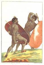GUERRIERI AFRICANI CLUB SCUDO BATTAGLIA 1810, 7x5 pollici stampa nbl