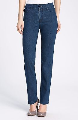 NWT Not Your Daughter/'s Jeans NYDJ Sheri in Iridescent Copper Coated Skinny 2