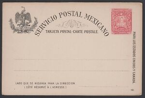 MEXICO-1897-Post-Card-H-amp-G-88-Mint