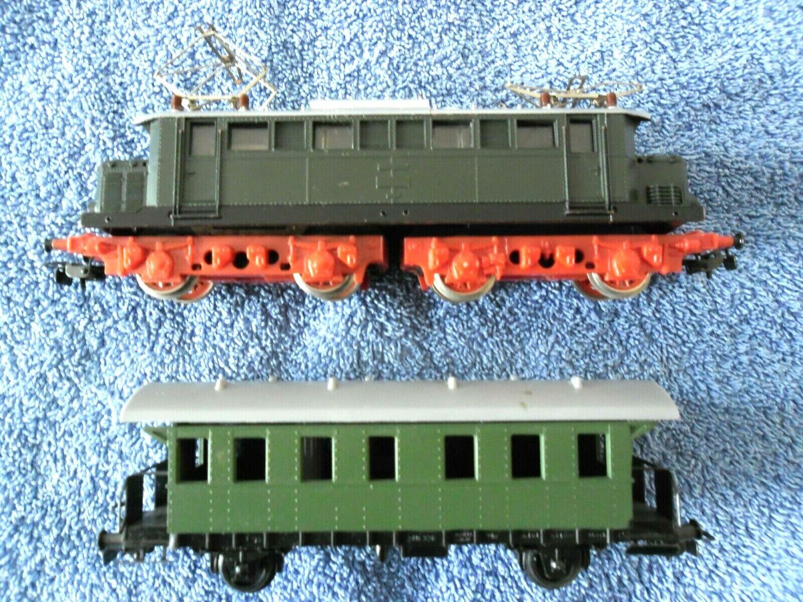 Electric locomotive wagon piko sonneberg 340-328 heimatbhf saalfield oh whz
