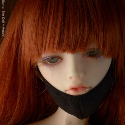 [Dollmore] 1/3 BJD Accessory  SD Size - Ahchoo Mask (Black)[M1]