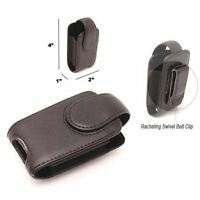 Mobile Cell Phone Holster Pouch For Motorola V3-leather