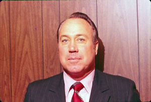 Original AP Duke Snider in Suit 60's70's Slide/Transparency Dodgers T0379