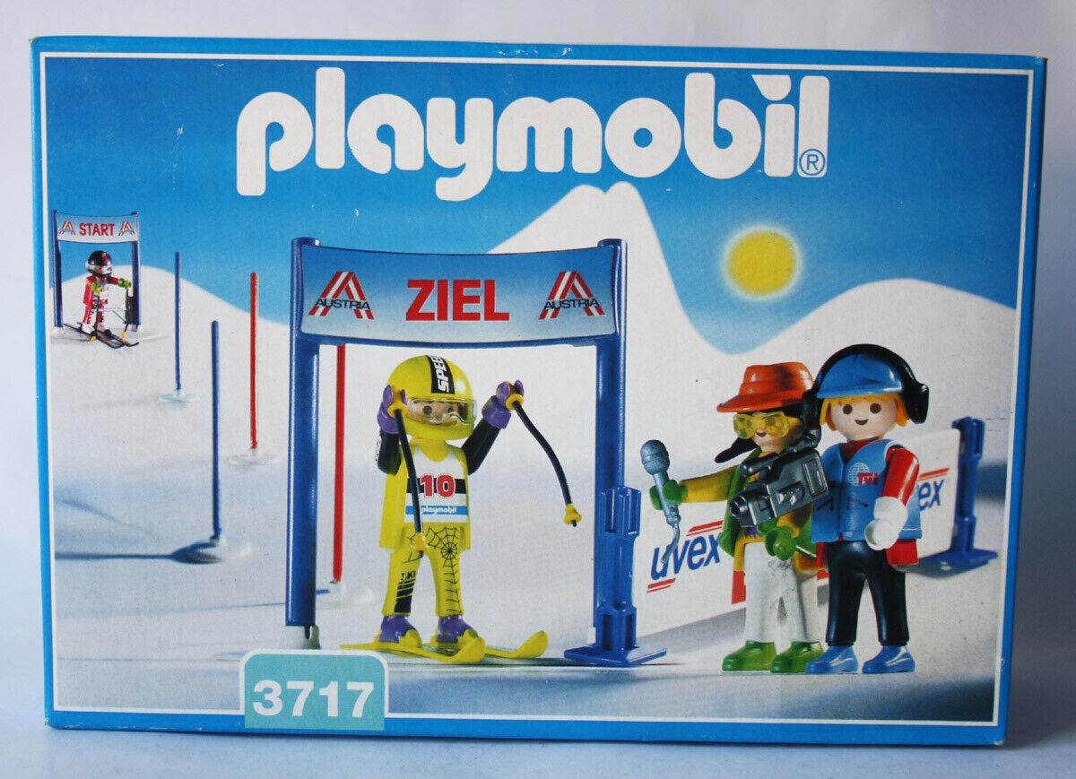 RARE  VINTAGE 1994 Playmobil 3717 ski Racers Allemagne Neuf Scellé  le moins cher