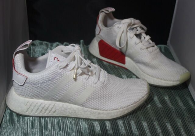 meet b943d eb4e4 Adidas NMD R2 CNY Chinese New Year DB2570 White Red Size 9