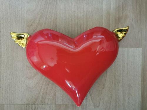 Luftbefeuchter Herz für Heizung Keramik//Ton Wasserverdunster für Heizkörper