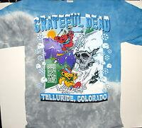 Grateful Dead bear Mountain 8/15-16/87 Telluride, Co. Tie Dye T-shirt