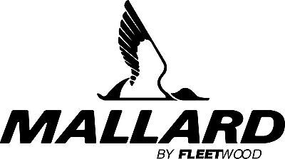"Mallard  RV LOGO Graphic decal lettering Full Color Version 30.5/""X15.5/"""